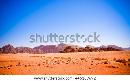 The Valley of the Moon Jordan