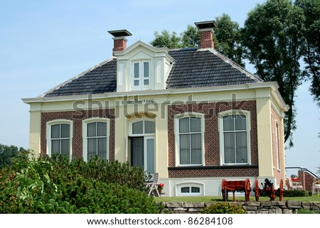 The village of Zoutkamp is an old fishery place in the province of Groningen