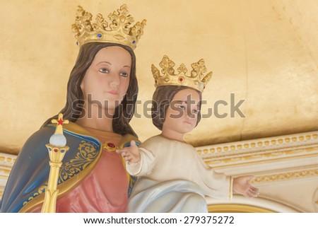 The Virgin Mary - stock photo