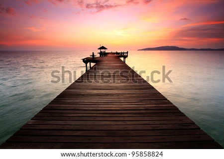 The Way - stock photo