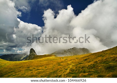 The way to heaven - stock photo