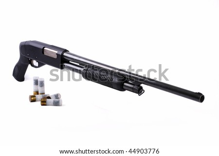 The weapon for self-defence and protection of objects - stock photo