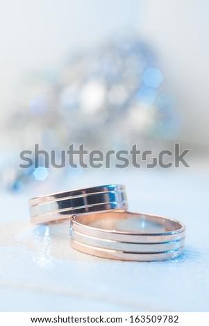 The  wedding ring - stock photo