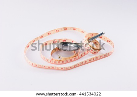 The weight control - stock photo