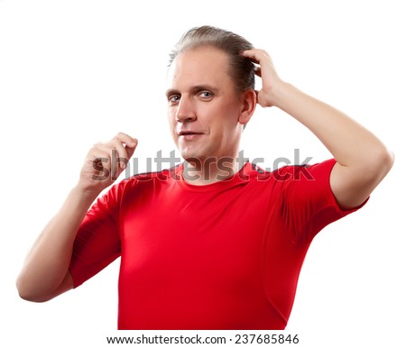 The well groomed man  - stock photo