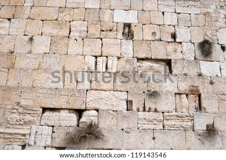 The Western Wall,Old City,Jerusalem,Israel