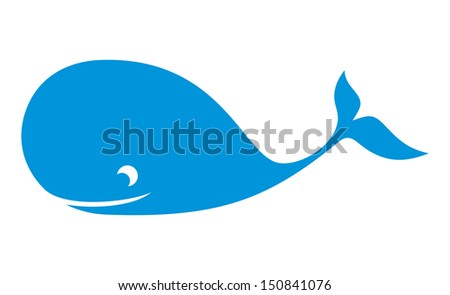 The whale - stock photo