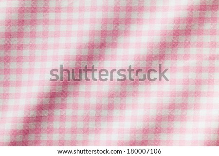the white and pink checkered background  - stock photo