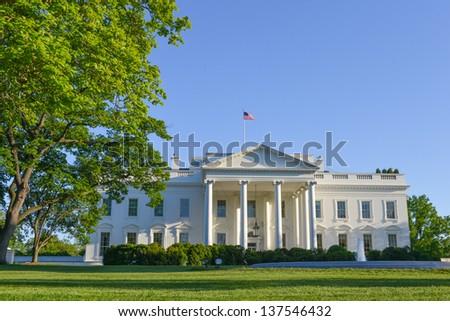 The White House, Washington DC United States - stock photo