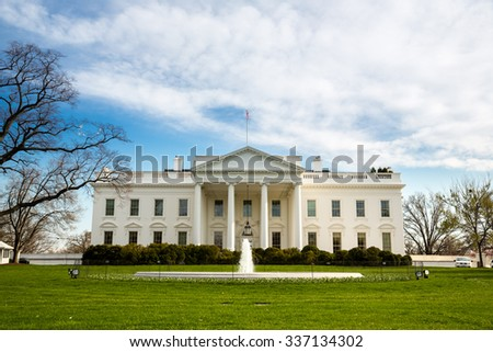 The White House Washington DC, United States - stock photo