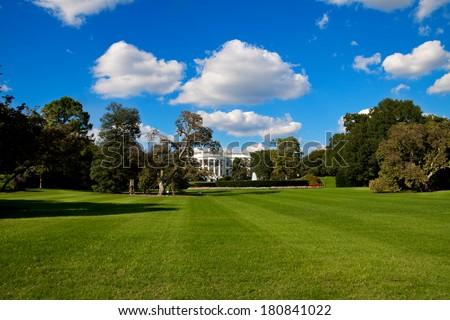 The White House - Washington DC, United States of America. - stock photo