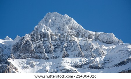 The white mountain. Dents du Midi - Switzerland