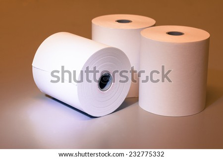 the white paper roll for calculator