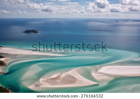 The Whitsunday Islands - stock photo