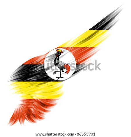 Ugandan Flag Coloring Page Stock Photos Illustrations