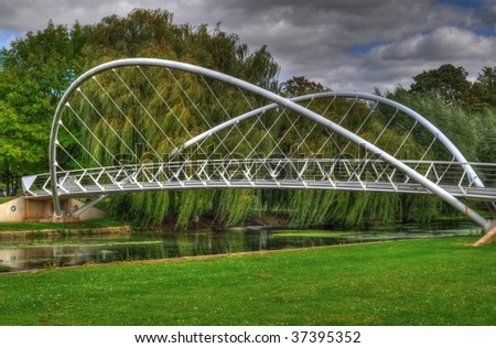 The Winged Bridge - stock photo