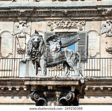 Winged Lion St Mark Symbol Venetian Stock Photo 269230388 Shutterstock