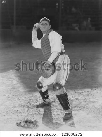 The winning pitch - stock photo