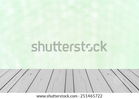 the wood terrace in pink Background of Air bubble wrap foil  - stock photo