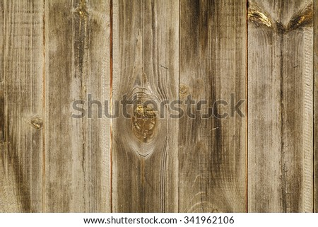 The Wooden Background - stock photo