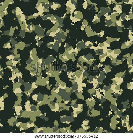 The woodland camouflage color background
