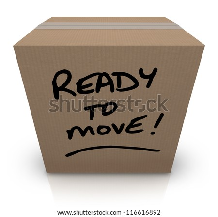 Ready To Move Stock Images, Royalty-Free Images & Vectors ...