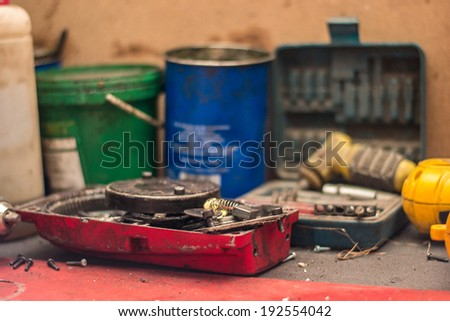 The Workshop tool - stock photo