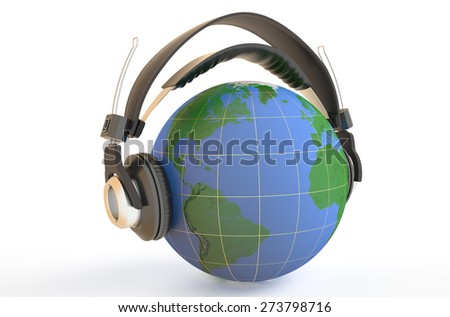 the world is listening a music