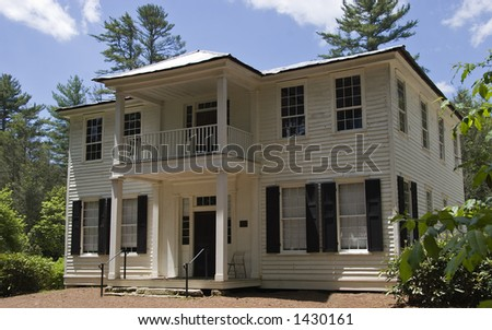 The Zachary-Tolbert House 150 Year Old Home in Cashiers, North Carolina