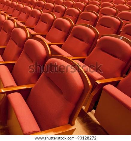 theater seats - stock photo