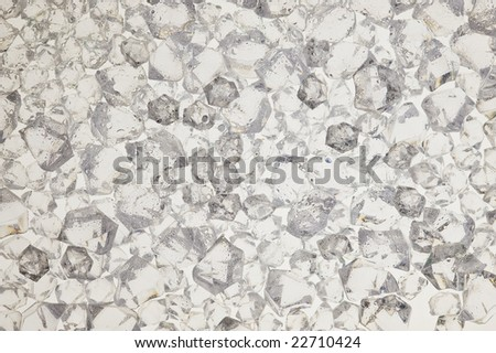 There is texture with creative ice - stock photo