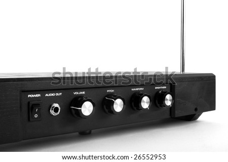 Theremin, musical instrument, constructed by Lev Thermen (1896-1993) - stock photo