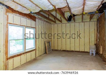 Foam concrete stock images royalty free images vectors for Foam home construction