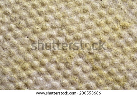 Thermal insulation  -mineral wool  background   - stock photo
