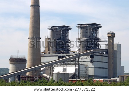 thermal power plant industry zone