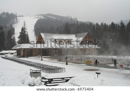 thermal  spa - Oravice - Slovakia - stock photo