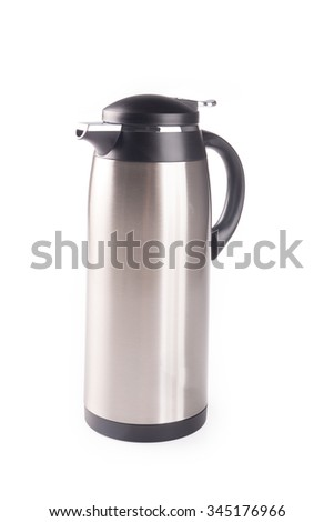 Thermo or Thermo flask on a background