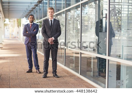 They're leaders in modern business - stock photo