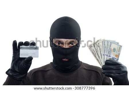 Thief, Burglar - stock photo
