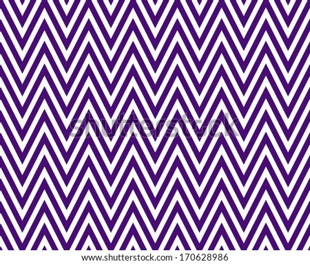Thin Dark Purple  and White Horizontal Chevron Striped Textured Fabric Background that is seamless and repeats