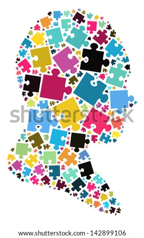 Thinking concept - stock photo