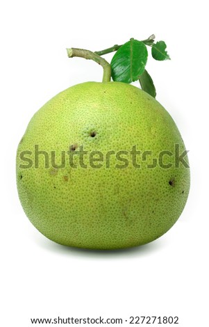 This article is about Citrus maxima. For Citrus paradisi - stock photo