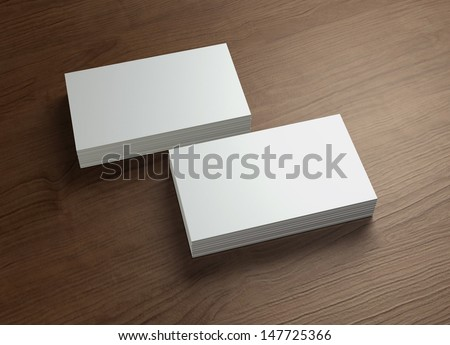 This business card presentation for promotion of Corporate identity.