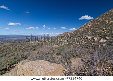 This image was taken from the Little Granite Mountain Trail in the Prescott National Forest, Prescott, AZ