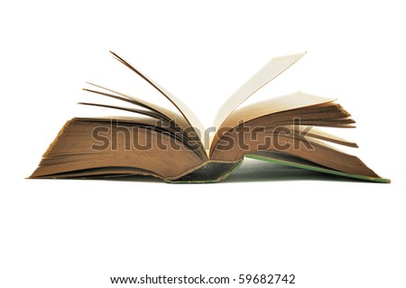This is a book.taken in isolated shot - stock photo