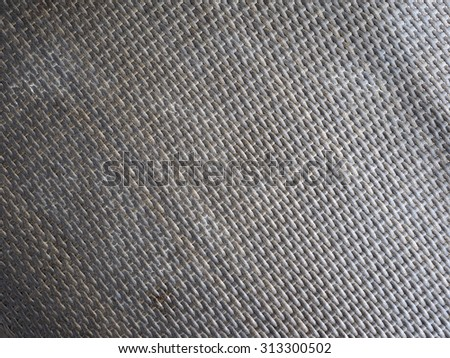 This is a close up of black twill carbon fiber. You can see the weave and fibers in this image. Could be used as a background. - stock photo