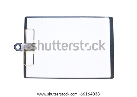 This is a Paper board in isolated shot - stock photo