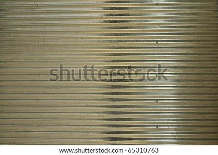 This is a texture of metal sheet - stock photo