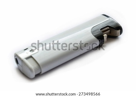 This is a view of lighter on the white background.