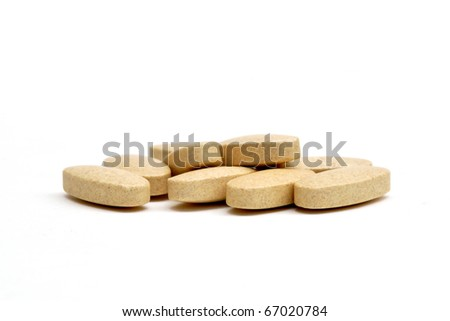 This is a Vitamin C in isolated shot - stock photo